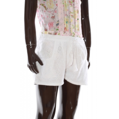 Girls shorts KH104 white