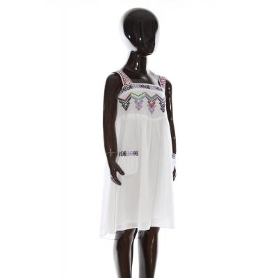Vestido niña KH015 off white