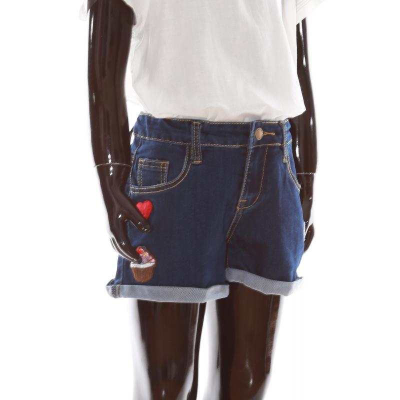 Girls shorts JH003 navy blue