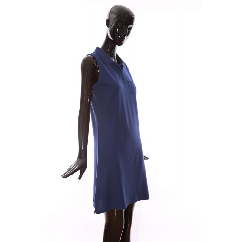 Dress P765 navy blue