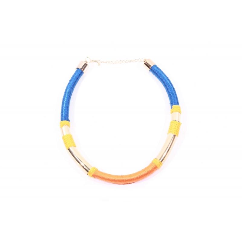 Necklace JA012 orange