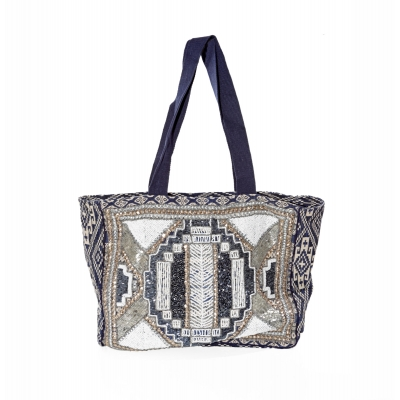 Ada Gatti bag PB104 navy blue