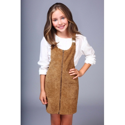Girls dress D297