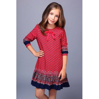 Ada Gatti girls dress TF023